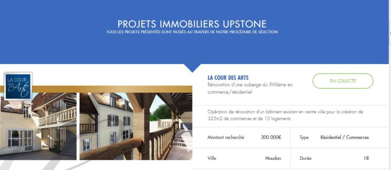 upstone immobilier