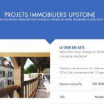 upstone immobilier